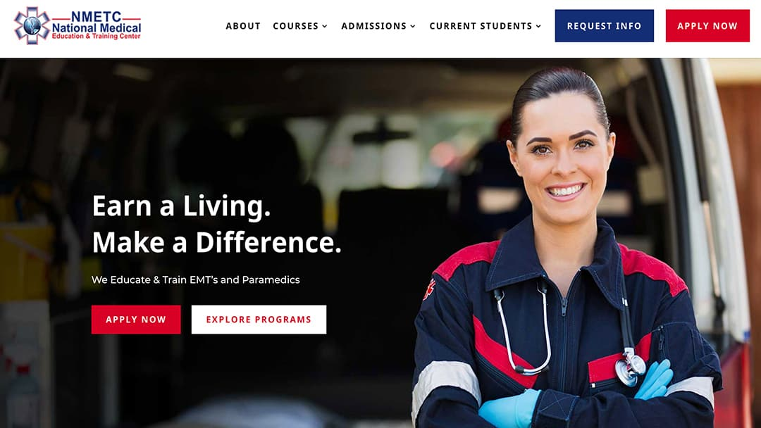 NMETC StoryBrand Website Example Agency Boon