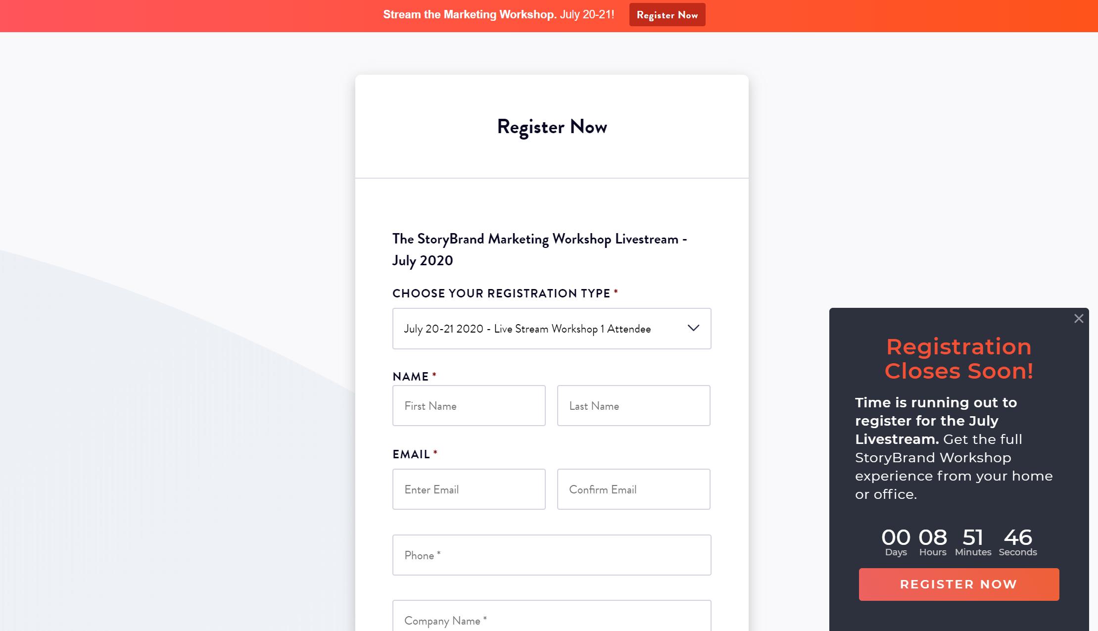 Building a StoryBrand Website image