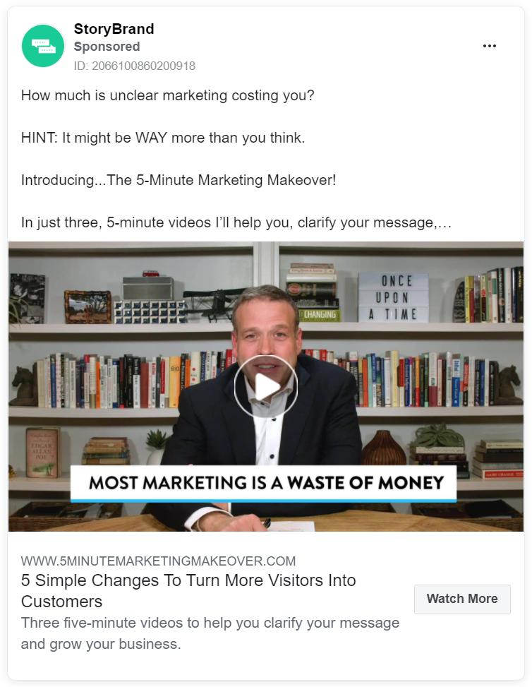 StoryBrand Marketing Framework image 1