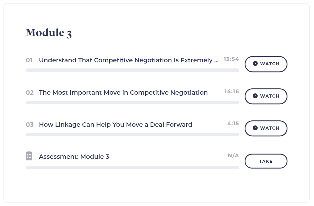 negotiation made simple 3