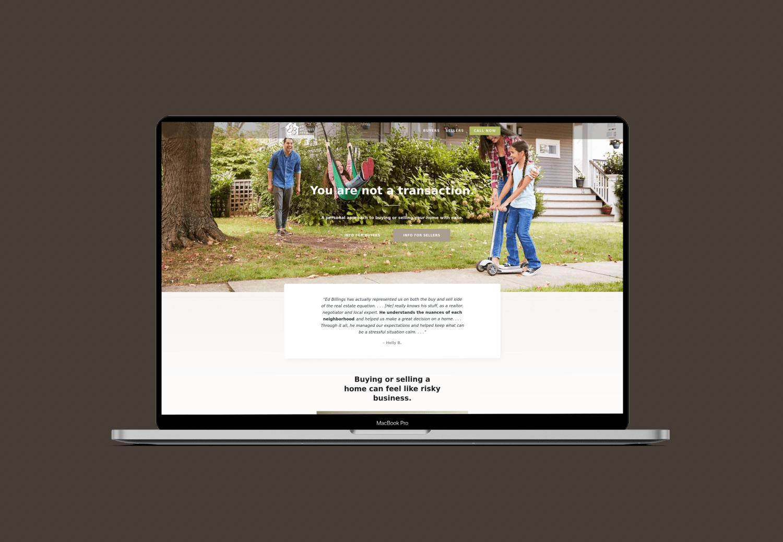 Ed Billings StoryBrand Website Example