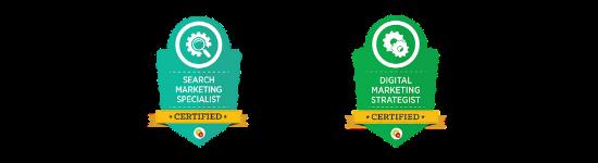 Digital Marketer certifications agency boon