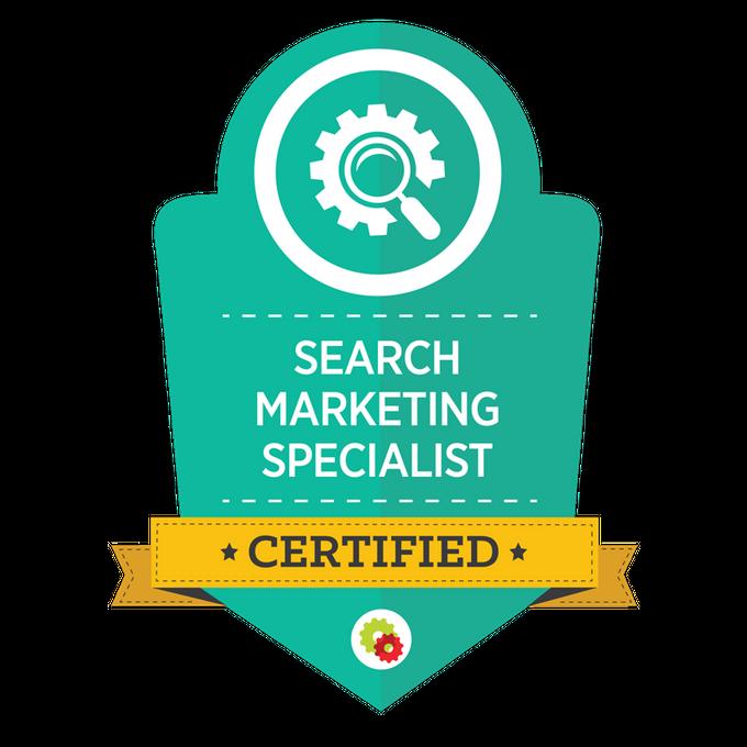 SearchMarketing Badge